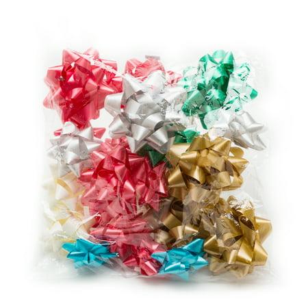 Hallmark Holiday Bow Assortment (6 Colors, 20 (Amber Bows)