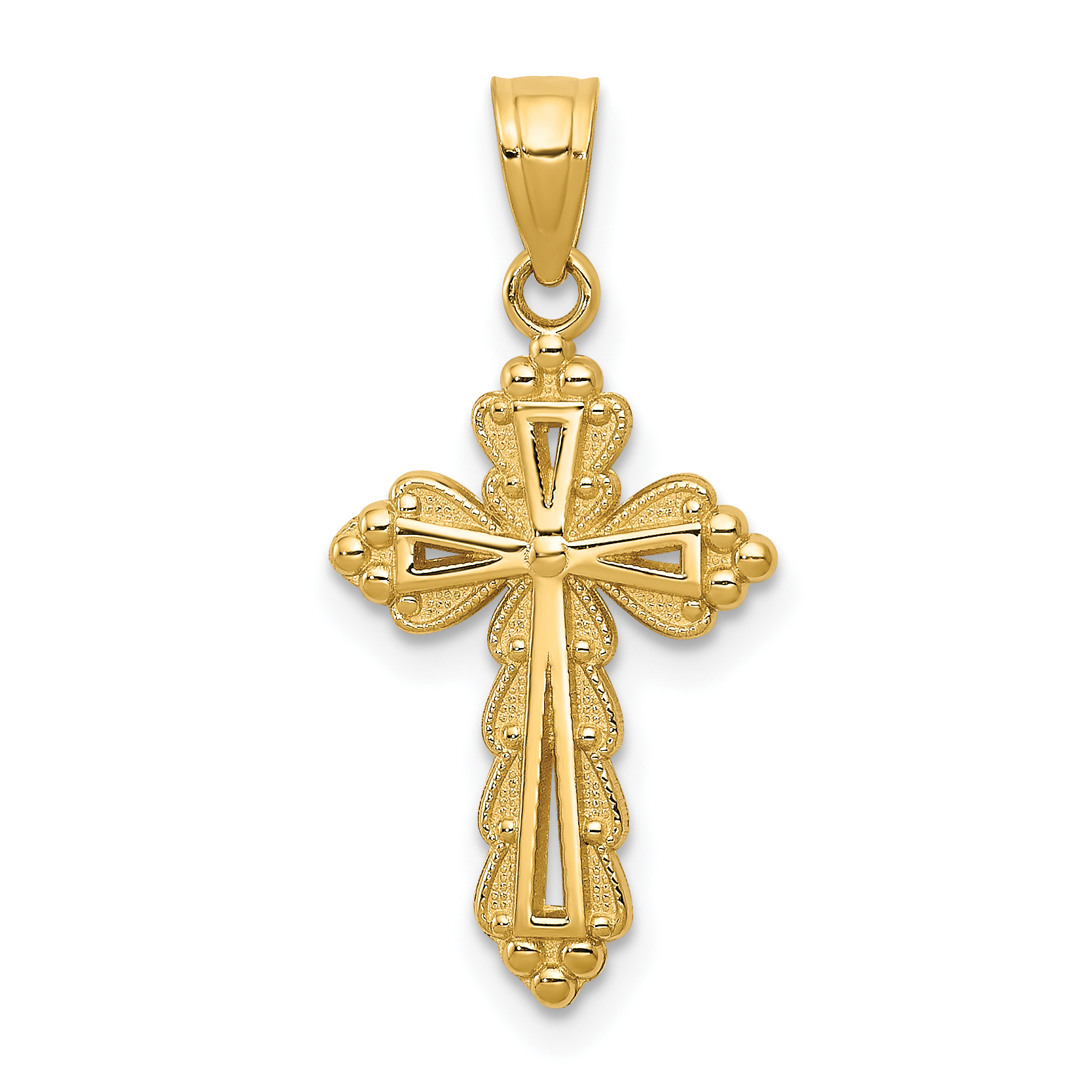 Sterling Silver 925 Cross Pendant Jewels Obsession Cross Pendant 25 mm