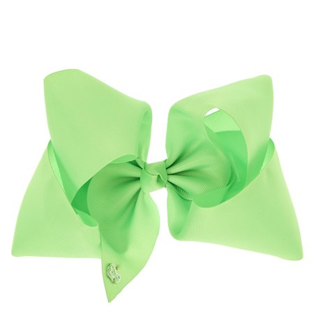 Green Neon Light (JoJo Siwa Signature Collection Large Hair Bow Neon Green )
