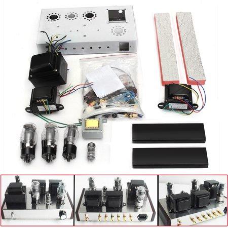 6N1+6P3P Tube Amplifier DIY Kit Class A Single-end tube Power Amp Amplifier