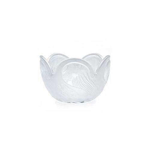 Godinger 42929 Swan Crystal Bowl