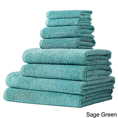 Sage Green Salbakos Arsenal Turkish Quick Dry 8 Piece