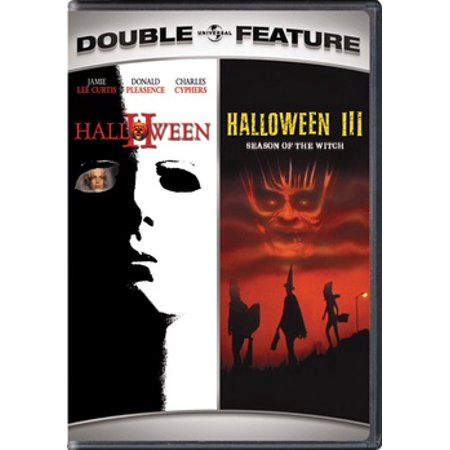Halloween II / Halloween III: Season Of The Witch - Halloween Movie With Jamie Lee Curtis