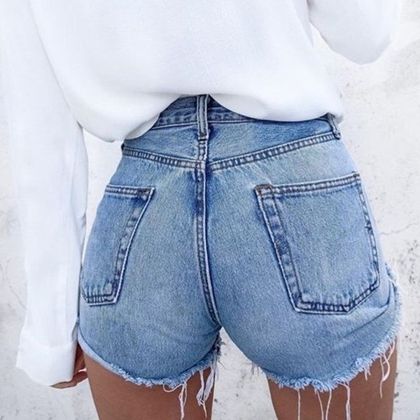 walmart female jeans : Women'S Skinny Shorts Summer Denim Pants Female Slim Jeans