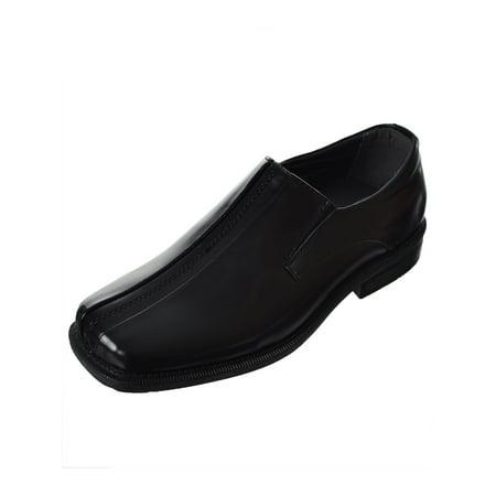 Boys Deer Stags Wings Slip-on Loafers - Black 5