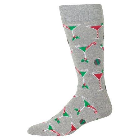 Christmas Cocktails Crew Socks ()