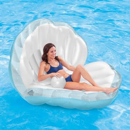 Intex Seashell Pool Float with Inflatable Pearl, 62
