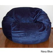 Ahh Products Cuddle Soft Minky 36-inch Washable Bean Bag Chair