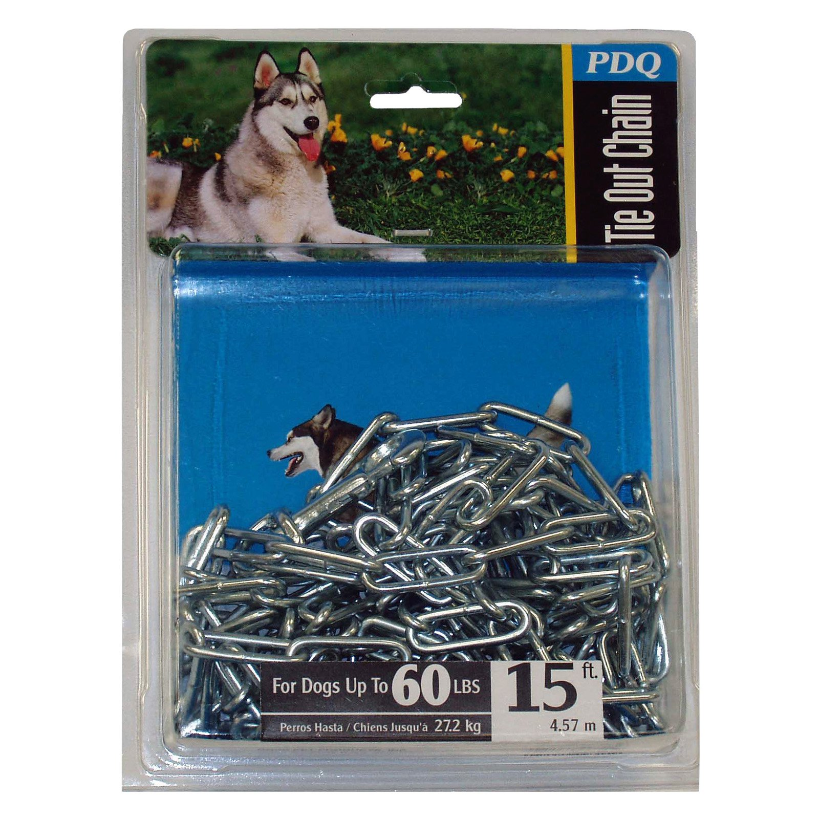 Boss Pet 09415 15' Extra Large Welded Chain Tie-Out