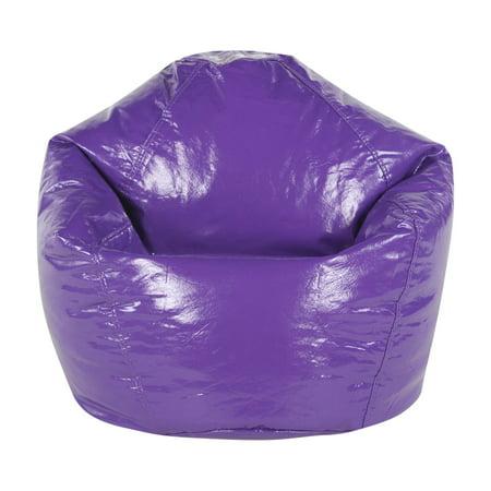 Wondrous American Furniture Alliance Wetlook Vinyl Junior Bean Bag Chair Short Links Chair Design For Home Short Linksinfo