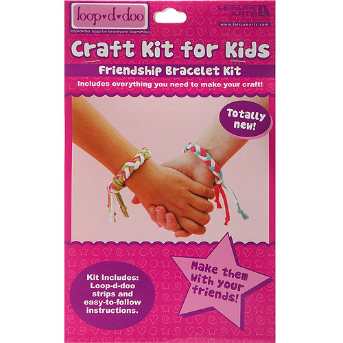 Loop-D-Doo Craft Kit for Kids, Friendship Bracelet