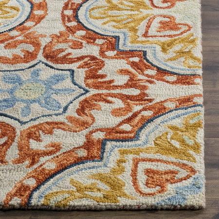 Safavieh Aspen Collection Apn217a Beige And Rust Premium