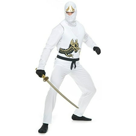 Ninja Avenger Costume (Men's  Ninja Avenger Series 2 Martial Arts)