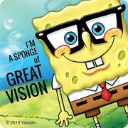 SpongeBob Squarepants Great Vision Stickers - Prizes and Giveaways - 75 Per Pack