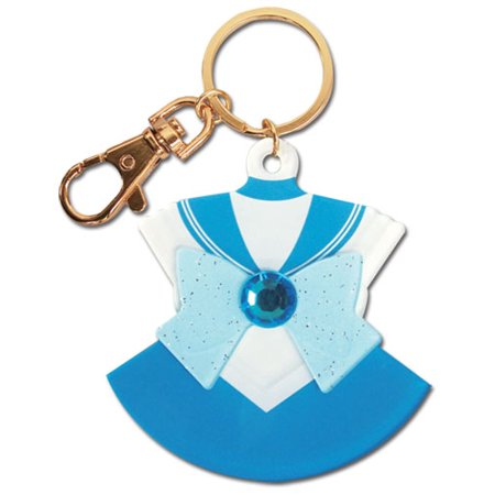 Key Chain - Sailor Moon - New Mercury Costume Acrylic Anime Licensed ge85094