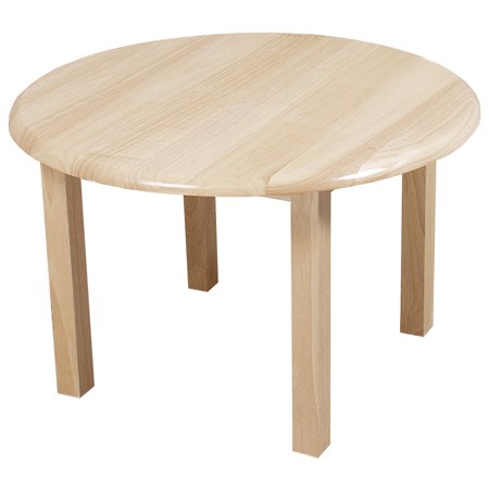 Wood Designs Round 30 in. Table (30 Inch Round Decorator Table Wood Composite)
