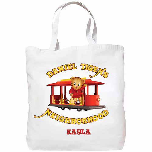 Personalized Daniel Tiger's Neighborhood Tote Bag