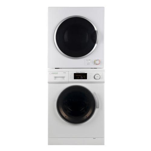 Equator Stackable set of 1.6 cu.ft Compact Super Washer & 3.5 cu.ft Compact Standard Sensor Dryer