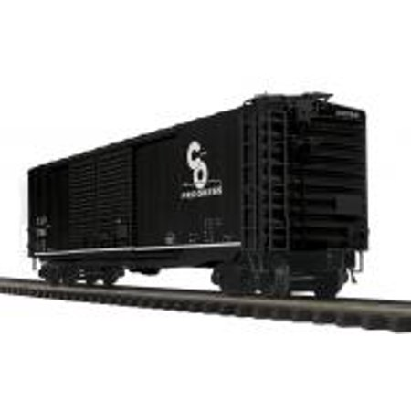 MTH 20-93693 O Chesapeake & Ohio 3-Rail 50 ft PS-1 Double Door Box Car #27855 ()