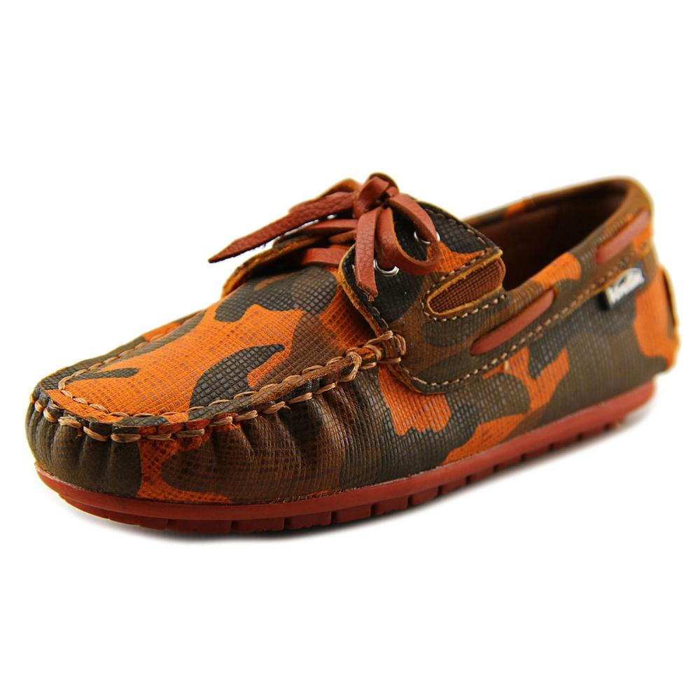 Venettini 55-Scott   Moc Toe Leather  Boat Shoe