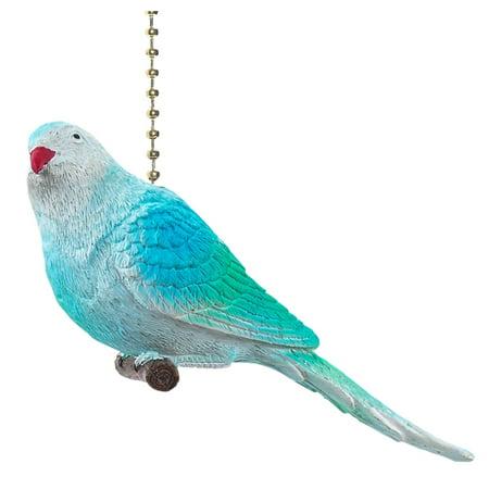 baby blue parakeet decorative ceiling fan light pull 3