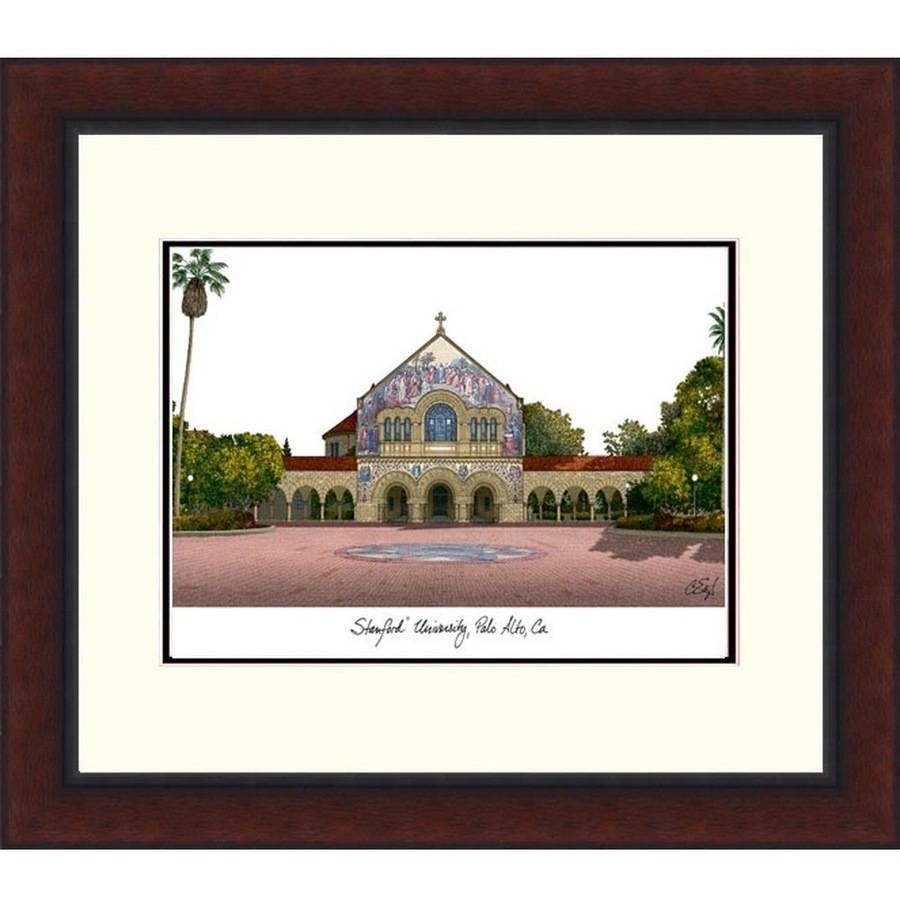 Stanford University Legacy Alumnus Framed Lithograph