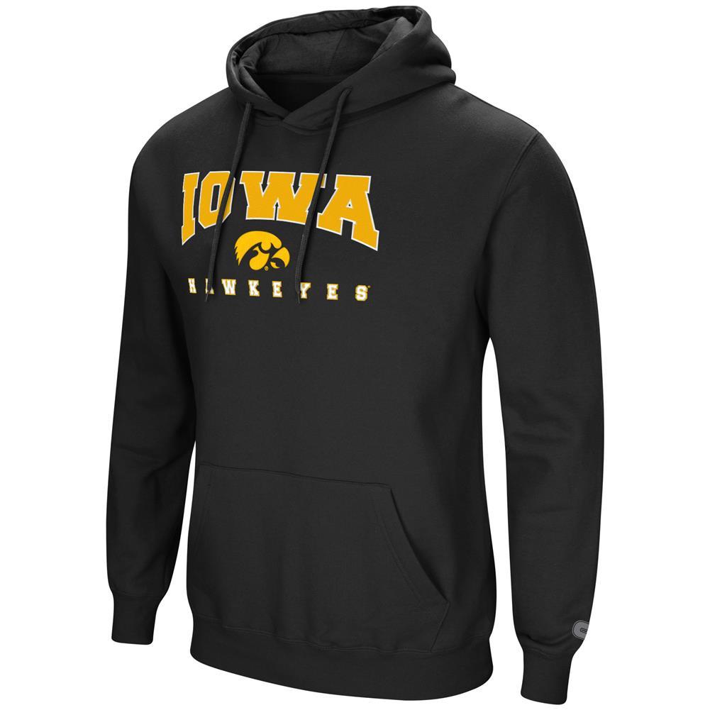 University of Iowa Hawkeyes Men's Hoodie Pullover Hooded Sweatshirt