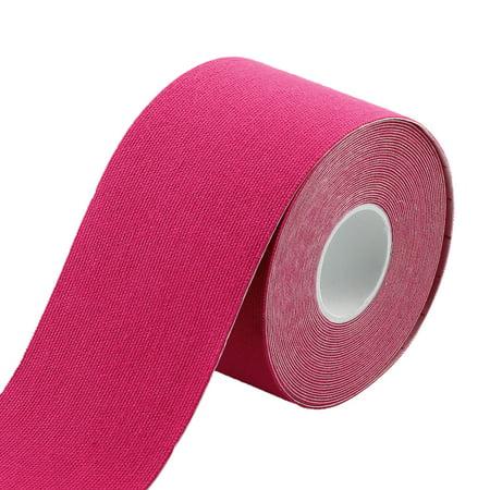 Sports Exercise Self-Adhesive Muscle Care Tape Wrap Bandage Fuchsia 5M Length - image 4 of 4