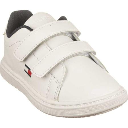 Best Infant Tommy Hilfiger Iconic Court Alt Sneaker Toddler deal