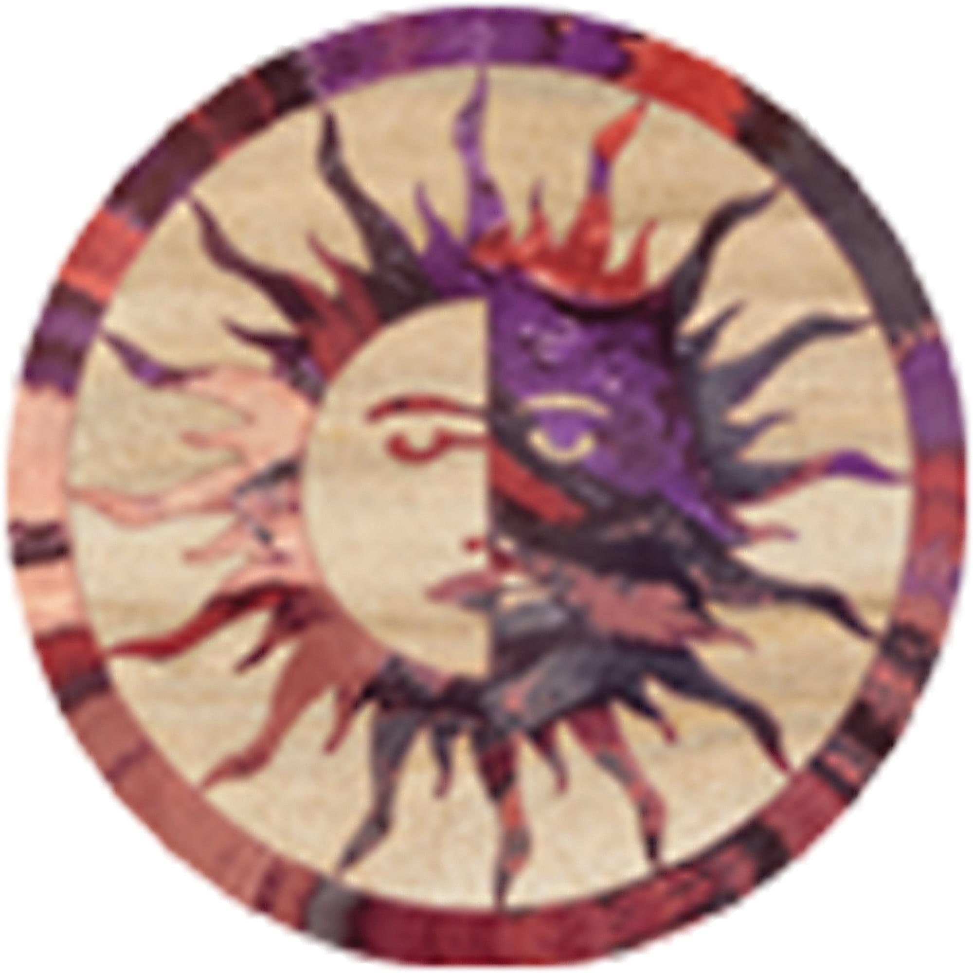 Thirstystone Drink Coasters Set, Sun Moon