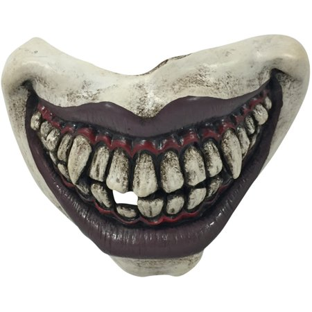 Adult's Twisty The Evil Clown Mouth Teeth Mouthpiece Costume Accessory