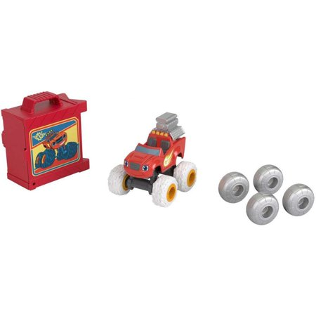 Nickelodeon Blaze And The Monster Machines Tune Up Tires Blaze