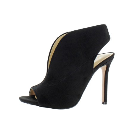 Jessica Simpson Womens Javrey Stiletto Peep-Toe Heels