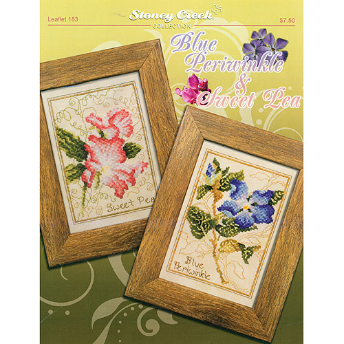 Stoney Creek -Blue Periwinkle & Sweet Pea