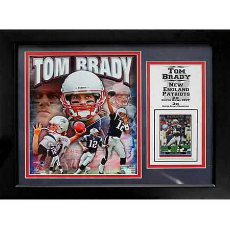 Nfl Tom Brady Deluxe Frame  11X14
