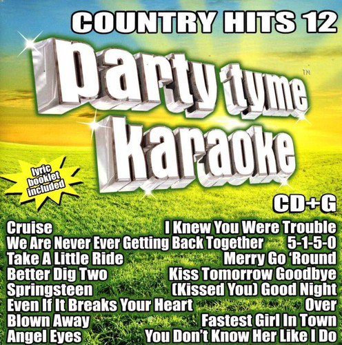 Party Tyme Karaoke: Country Hits 12 / Various (CD)
