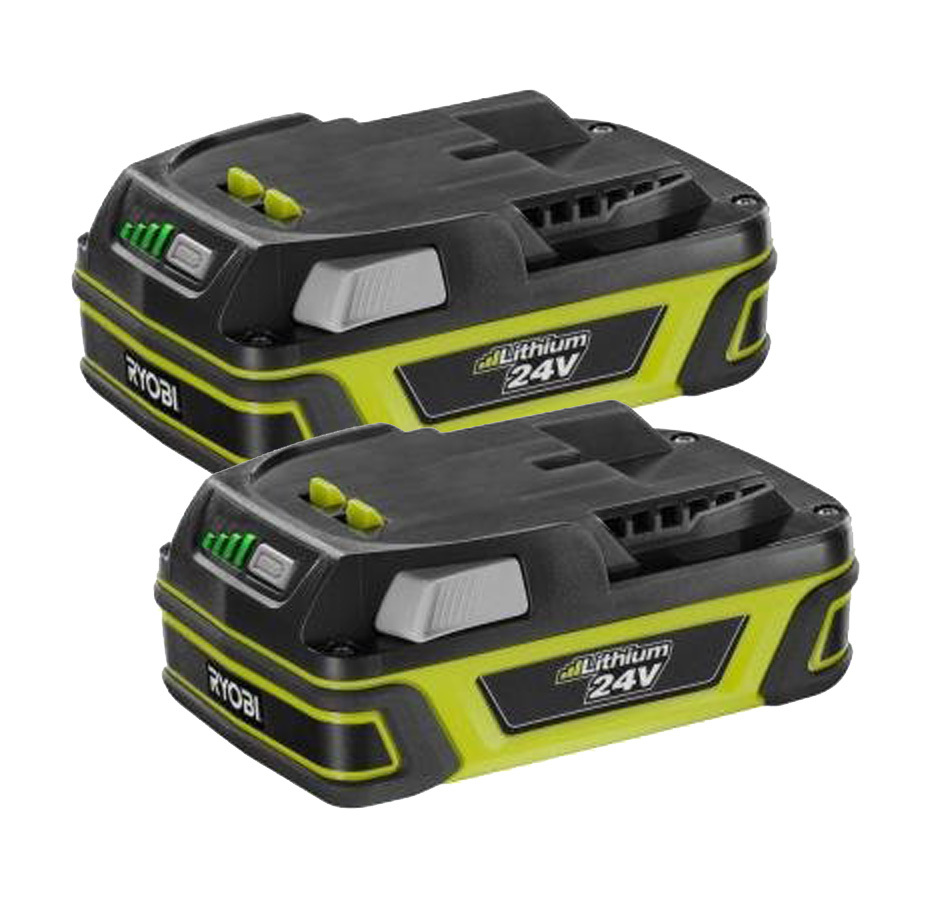 Ryobi RY24602 Hedge Trimmer (2 Pack) Replacement Battery ...