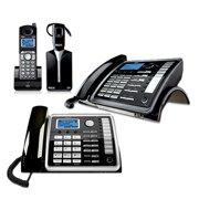 RCA ViSYS 25270RE3-25260-BUNDLE Desk Phone Bundle w/ Cordless Handset- Wireless Headset and Wireless Desktop Phone