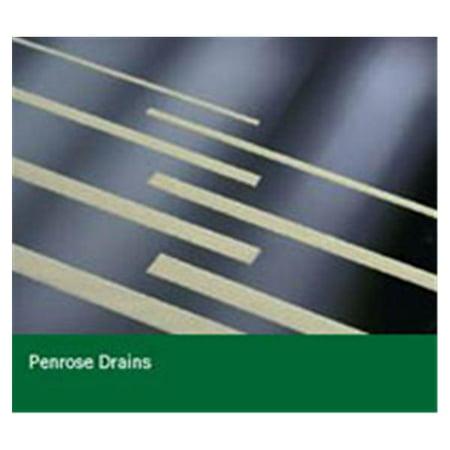 "WP000-PT -918030 918030 Drain Penrose Incision Rubber Sterile Latex 1/2x18"" Disp 50/Bx Bard Medical Division"