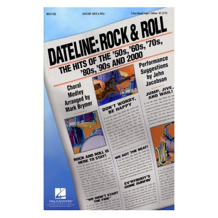80s Female Rock Singers (Hal Leonard Dateline: Rock & Roll - The Hits of the '50s, '60s, '70s, '80s, '90s and 2000 3 Part Singer by Mark)