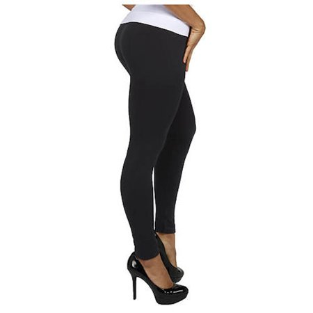 Genie Fleece-Lined Leggings In Black - XL