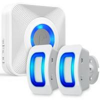 Fosmon WaveLink Wireless Home Security Driveway Alarm, Motion Sensor Detect Alert, Store Door Entry Chime Doorbell