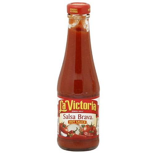 La Victoria Salsa Brava Hot Sauce, 12 oz  (Pack of 12)