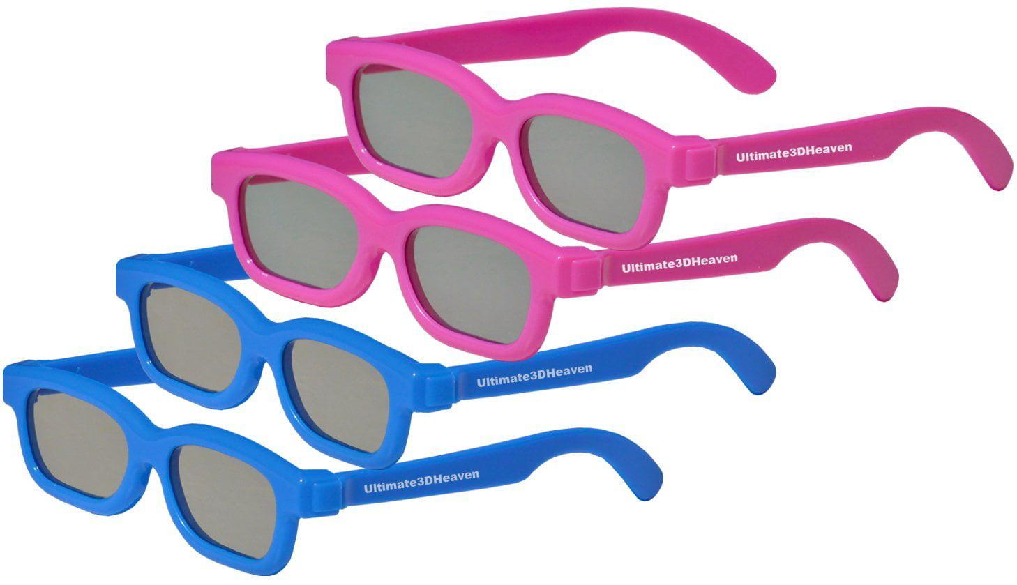 f15b06c8538 10 Pairs - Children s Passive 3D Glasses for Kids - Genuine Ultimate 3D  Heaven Sealed for LG