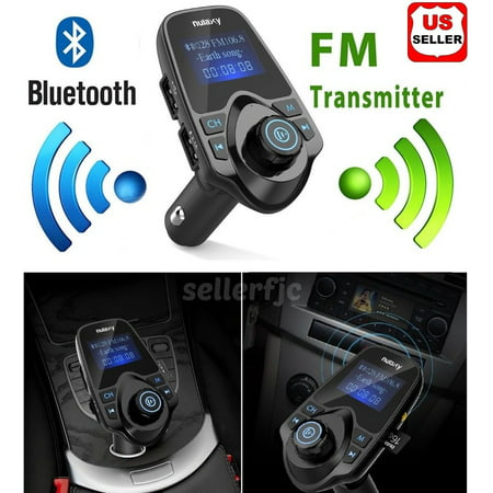Fm Crystal Set Transmitter Receiver (Bluetooth Wireless Car AUX Stereo Audio Receiver FM Radio Adapter USB Charger)