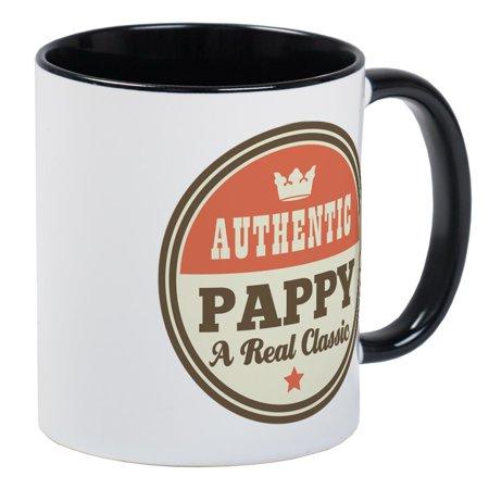 CafePress - Classic Pappy Mug - Unique Coffee Mug, Coffee Cup CafePress Classic Flair White Cup
