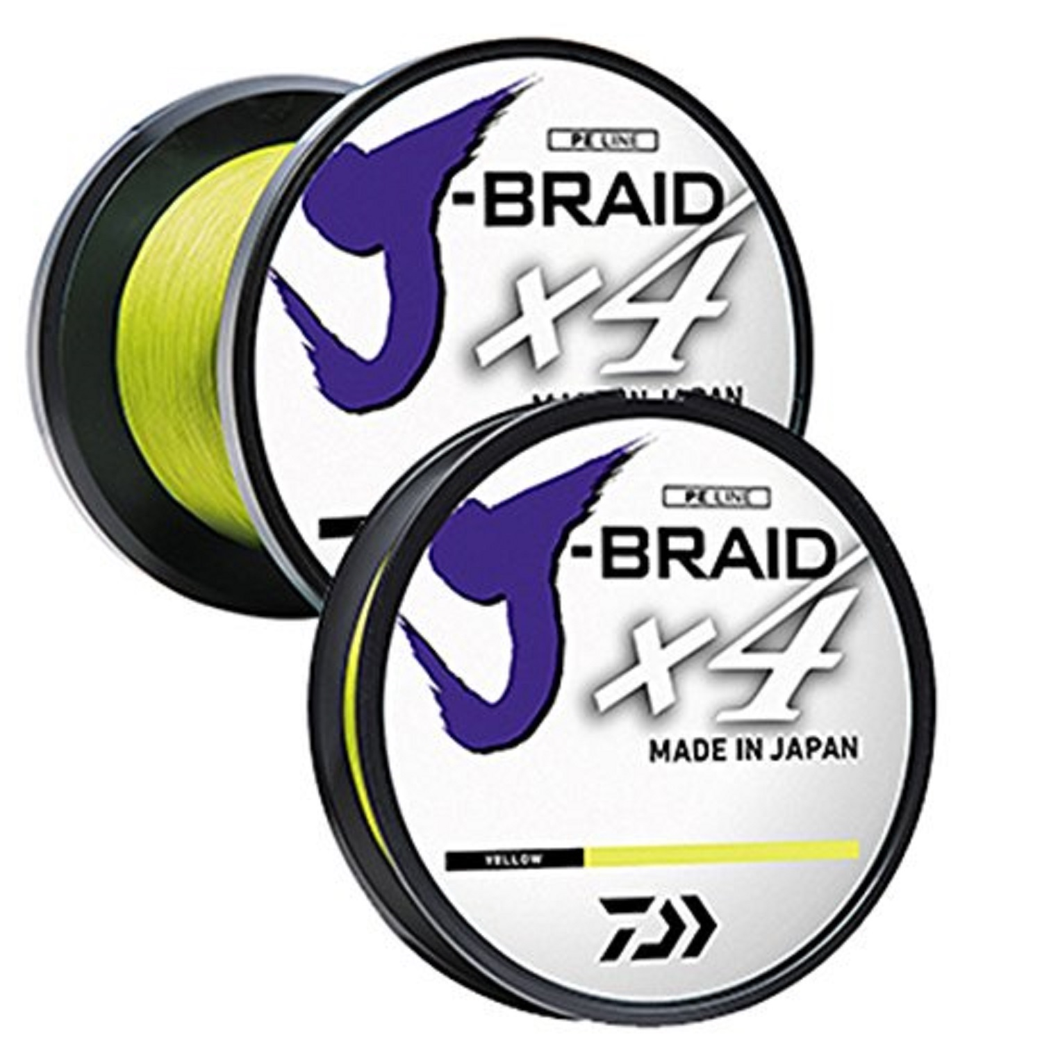 Daiwa J-Braid X4 300 Yard Spool 80LB Test, Dark Green