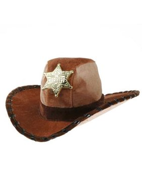 Product Image SHERIFF HAT boys kids cowboy western woody costume halloween  deputy AGES 3-12 d028f90d663c