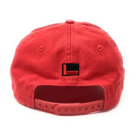 "FUBU ""FB"" Logo 25th Anniversary Dad Red Snapback Hat - image 1 of 5 ... 33a06cddb5c"