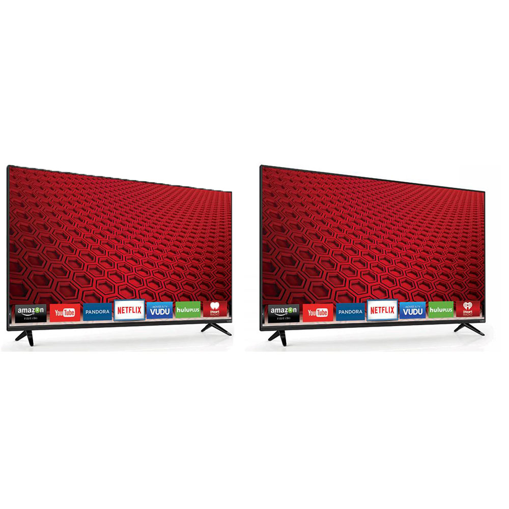 VIZIO 60 Inch Class Full Array LED Smart HD TV (2 Pack) (Certified Refurbished)
